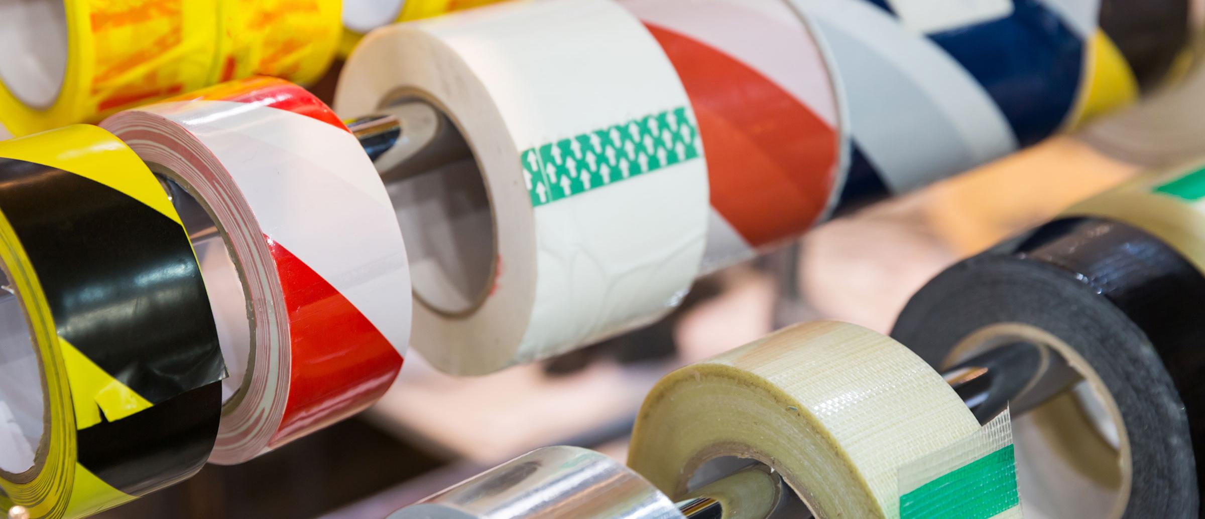 Nastri personalizzati per imballi aziende Sardegna